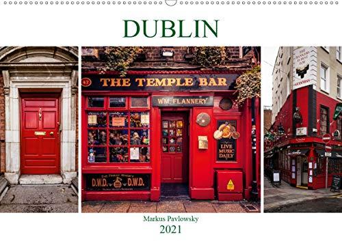 Dublin (Wandkalender 2021 DIN A2 quer)