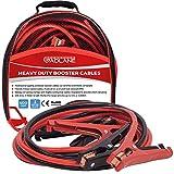 GADLANE Cables de Arranque 3m 400amp Codificado por Colores Pinzas Bateria Coche para Camioneta de Coche Diésel Gasolina