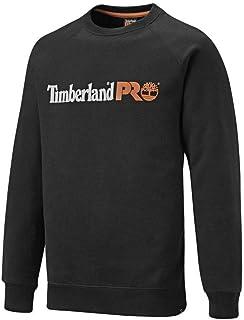 Timberland Pro Mens Honcho Sport Raglan Sweatshirt Black