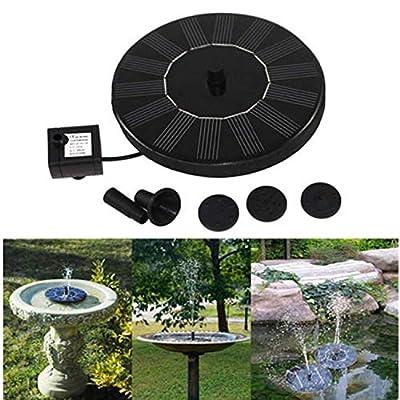 Garden Solar Fountain Pump, Freestanding Floati...