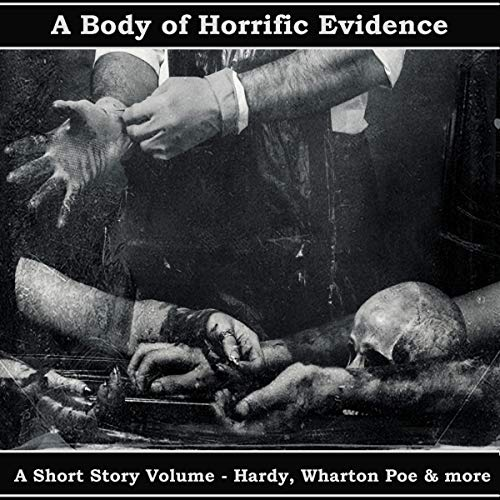 Page de couverture de A Body of Horrific Evidence - A Short Story Collection