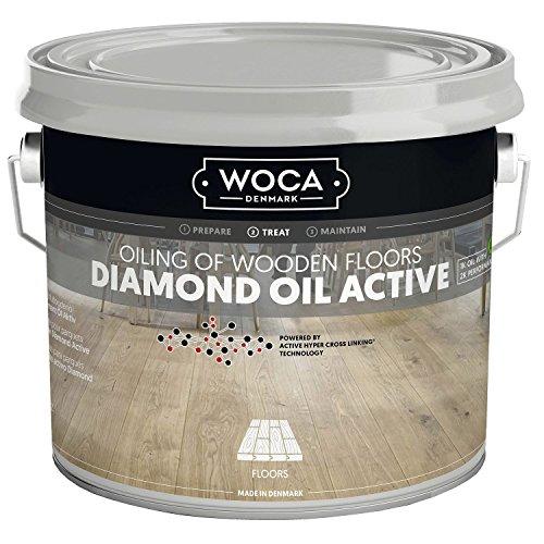 WOCA Diamond Öl Aktiv , Natur , 2,5 Liter