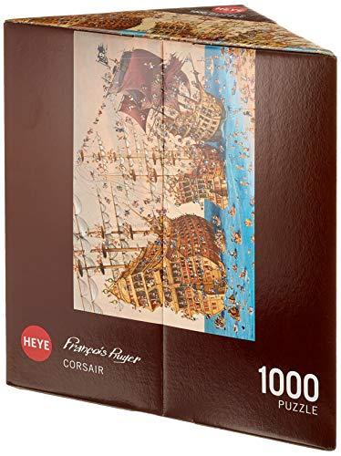 Heye Puzzles - Triangular , 1000 Pc - Corsair, Ruyer