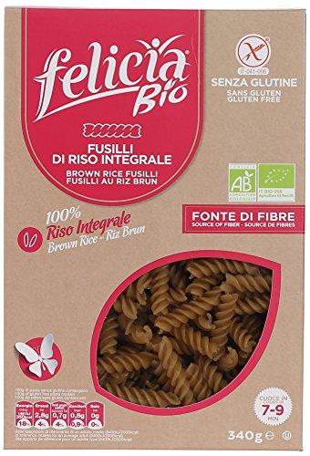 玄米のグルテンフリーパスタ (フジッリ) Gluten Free Brown rice pasta (fusilli)