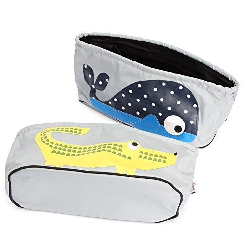 Organiser per passeggino, impermeabile per passeggino Buggy Stroller Storage Bag per il telefono, pannolini, giocattoli e accessori