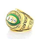 WSTYY Rugby League Ring, 1967 Rugby League Green Bay Packers Champion Fan Collection Ring,Without Box,11#