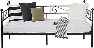 comprar comparacion Aingoo sofá Cama Armadura de Cama con tablillas Cama de día Cama de Invitados 90 x 190 CM (Negro)