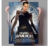 ZJYWYCN Poster Klassischer Action-Abenteuer-Film Lara