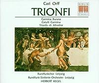Carl Orff: Trionfi by Carl Orff (1995-02-13)
