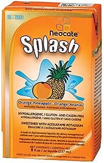 E028 Splash, Orange-Pineapple, 237 mL (Case of 27) by Neocate
