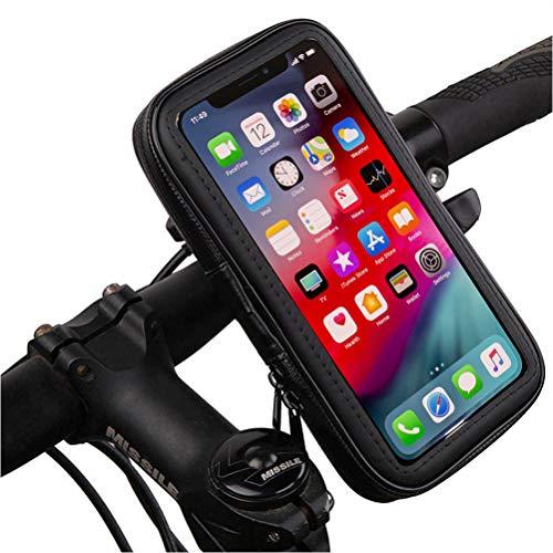 Antber Supporto Huawei P9 Lite Moto Bici Bicicletta Custodia Impermeabile Presa indistruttibile con aggancio Extra al Manubrio Supporto Moto Huawei P9 Lite