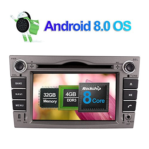 6.2 pulgadas Android 8.0 Octa Core 4GB RAM Radio estéreo del coche para Opel Astra/Vectra/Zafira con 32GB ROM CD Reproductor de DVD Soporte navegación GPS AM FM RDS Bluetooth 4G WIFI AV-Out