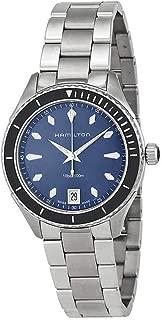Hamilton Jazzmaster Seaview Blue Dial Stainless Steel Ladies Watch H37451141