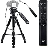 2021 updated version. 2 in 1 compact lightweight tripod with detachable remote control pan bar replaces Sony VCT-VPR1 for Sony cameras or camcorders with Multi Terminal The detachable pan bar controller is a multi-function remote commander with basic...
