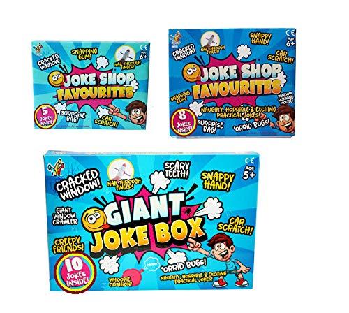 S&D Practical Jokes Games, Action Prank Kit , Friendly Jokes to Family...