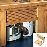 Omega National 18W x18.5H Straight Appliance Garage Maple
