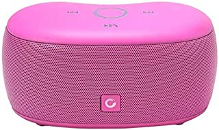 SoundBox xs Wireless Bluetooth 4.0 Speaker, Capacitive Touch Speaker with 10W HD Sound, Hands-free for calls, TF and Aux in, 8 hours playtime, Pink