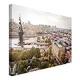 Bilderwelten Leinwandbild - City of Moscow - Quer 2:3, 60cm x 90cm
