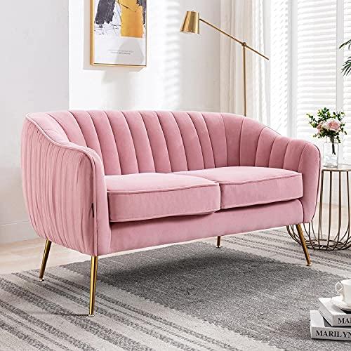 Xkun silla moderna del sofá del terciopelo del sofá del hombre
