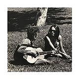 Sänger Joan Baez und Bob Dylan 34 Leinwand-Poster,