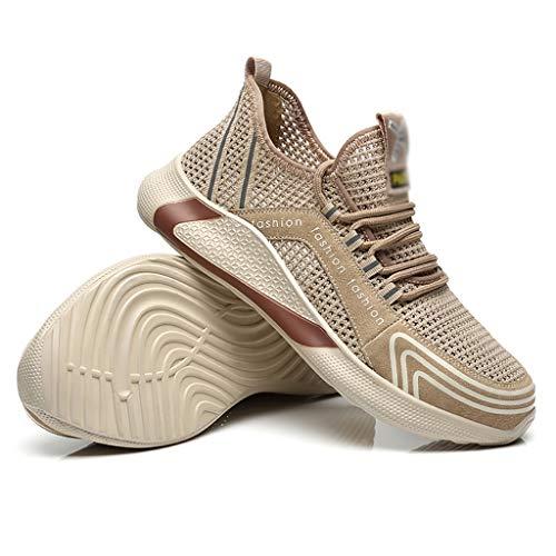 Zapatos de seguridad 2020 nuevos zapatos de los hombres!Anti-sensacional Zapatos de seguridad a prueba de pinchazos, ligero y transpirable Desodorante trabajo zapatilla de deporte, con punta de acero