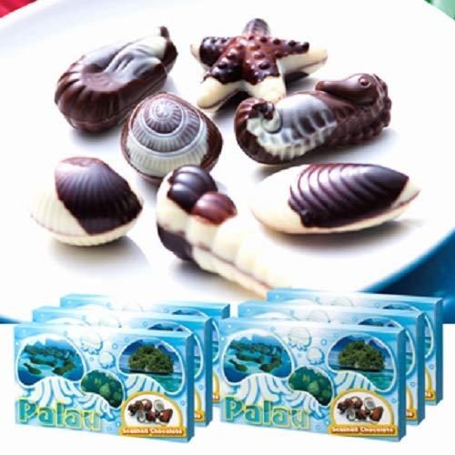 パラオ シーシェル チョコレート 6箱セット 【賞味期限】8月16日【パラオ おみやげ(お土産) 輸入食品 スイーツ】