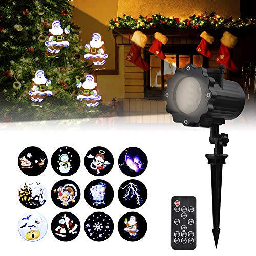 Holiday Projector, Viugreum Dynamic LED Christmas