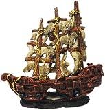 MYSTERY PIRATE SHIP AQUARIUM ORNAMENT