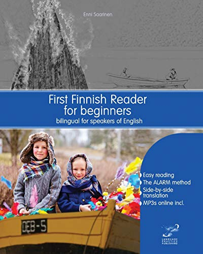 Compare Textbook Prices for First Finnish Reader for beginners: bilingual for speakers of English Graded Finnish Readers Volume 1 Finnish Edition Bilingual Edition ISBN 9781519392152 by Saarinen, Enni