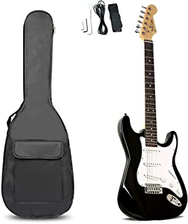 Deviser 40 inch Full Size Electric Guitar and Accessories with Guitar Bag and Guitar Strap (Electric Guitar)