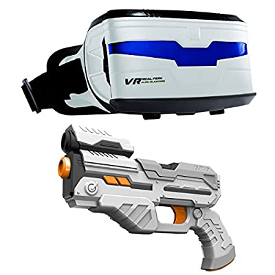 VR Entertainment 63737 Real Feel Alien Blasters Toy
