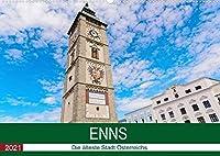 Enns, die aelteste Stadt OesterreichsAT-Version (Premium, hochwertiger DIN A2 Wandkalender 2021, Kunstdruck in Hochglanz): Enns, alte Stadt in Oberoesterreich (Monatskalender, 14 Seiten )
