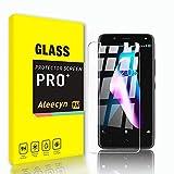 ALEECYN [3 Stück Panzerglas Schutzfolie für BQ Aquaris V, 9H Festigkeit Panzerglas,Anti-Kratzer Schutzglas,Fingerabdruck-frei,Einfache Installation,HD Bildschirmschutzfolie für BQ Aquaris V