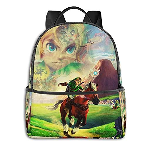The Legend of Zelda - Mochila escolar con diseño de anime