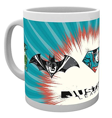 GB Eye, DC Comics, Ligue de Justice, Badges, Mug