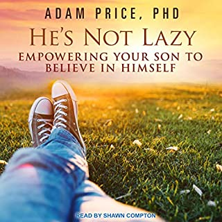 He's Not Lazy audiobook cover art