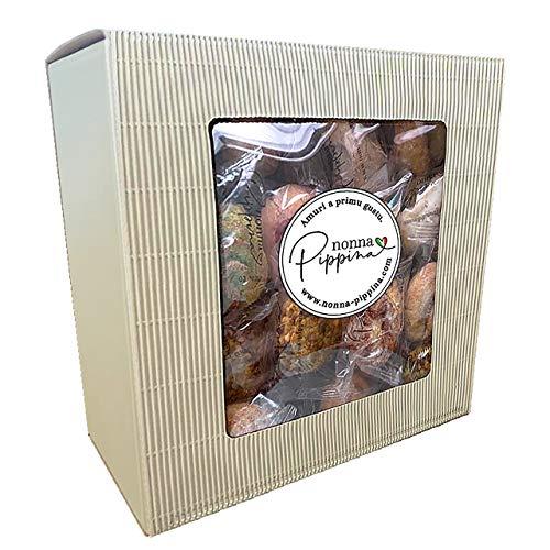 NONNA PIPPINA Pasticcini Siciliani, weiches Mandelgebäck aus Sizilien, Familien-BOX (1.500g)