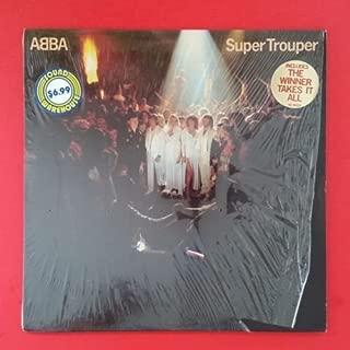 ABBA Super Trouper LP Vinyl VG+ Cover Shrink Sleeve 1980 Atlantic SD 16023 HIP