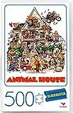 Animal House Movie 500-Piece Puzzle in Plastic Retro Blockbuster VHS Video Case