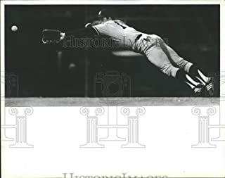 Historic Images - 1984 Press Photo New York Toby Harrah Carlton Fisk vain