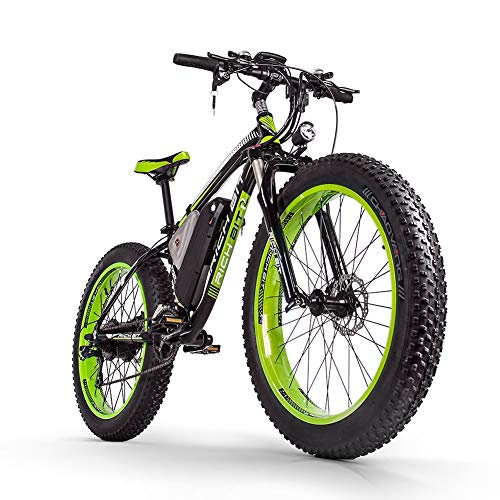 CYSUM E-Bike 1000W Fat vélo électrique 48V * 17Ah LG Li-Battery 50-80Km VTT Shimano 21 Vitesses (GREEB)