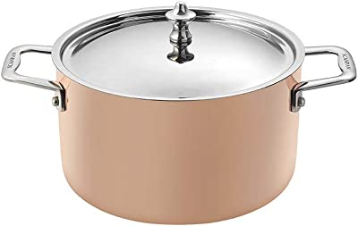 Scanpan Maitre D' Induction Dutch Oven, 3.4 Qt, Copper