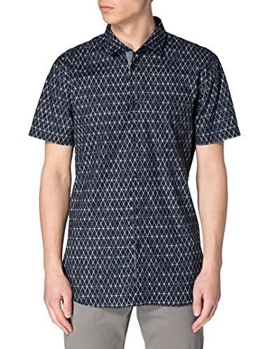 BOSS Magneton_1-Short 10232585 01 Camisa, Dark Blue404, M para Hombre
