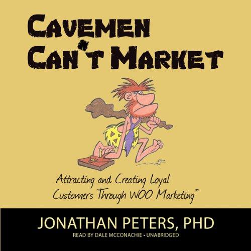 Cavemen Can't Market audiobook cover art