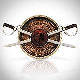 Captain Morgan Rum Co. Licensed - 3D Barrel & Swords Display