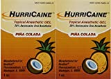 Beutlich LP Pharmaceuticals Hurricaine Topical Anesthetic Gel, Piña Colada, 1 Ounce- Pack of 2