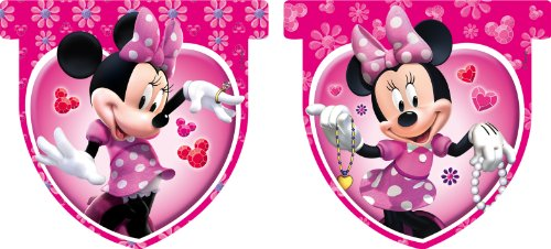 Amscan Drapeau Disney Minnie Mouse