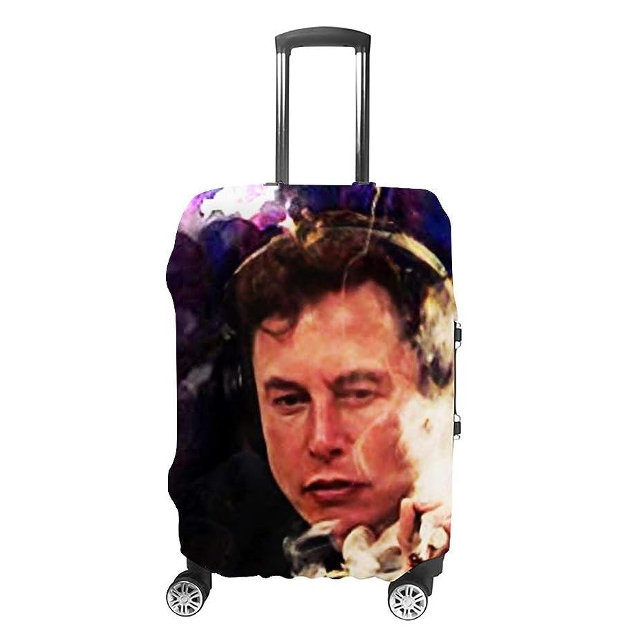 同志支出電気Elon Musk ファッション旅行荷物カバースーツケース荷物プロテクター旅行カバー男性用女性用