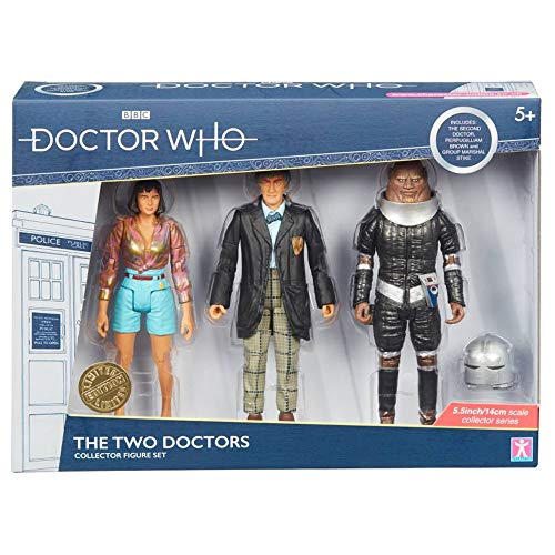 Doctor Who Collectible Action Figures The Two Doctors Set Limited Edition