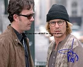 Johnny Depp Secret Window Autographed Preprint Signed 11x14 Poster Photo